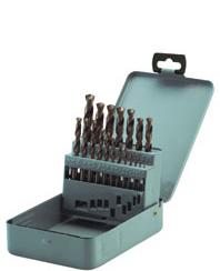 HSS-E twist drill bits DIN 338 5% Cobalt